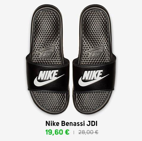 Claquettes Nike Benassi JDI