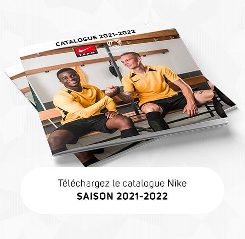 Téléchargez notre catalogue Nike Teamsport 2021-2022