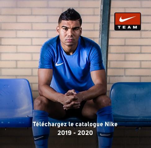 Téléchargez notre catalogue Nike Teamsport 2019-2020
