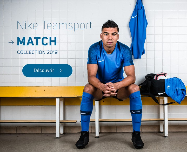 Maillots Nike Teamsport - Collection 2019-2020