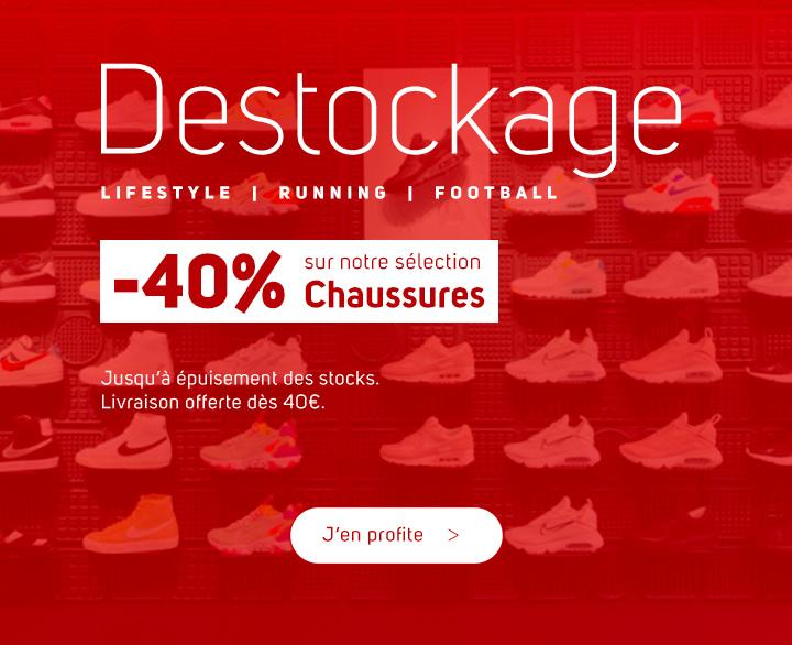 Destockage chaussures Nike