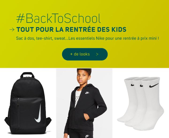 Rentrée scolaire promo Nike