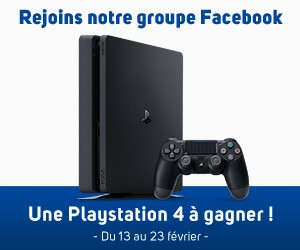 Gagnez une Playstation 4