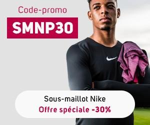 Nouveau sous-maillot Nike