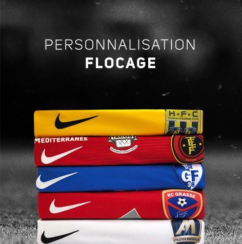 Flocages aux couleurs de votre club